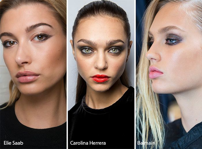 Spring/ Summer 2017 Makeup Trends: Subtle Smokey Eye Makeup  As a Mua I'm not into all of this 2017 trend!