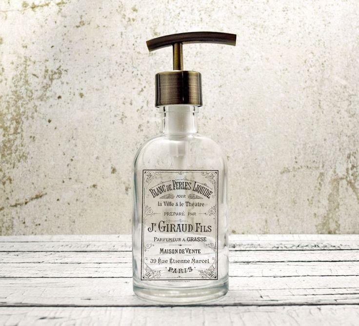 Farmhouse Bathroom Soap Dispenser