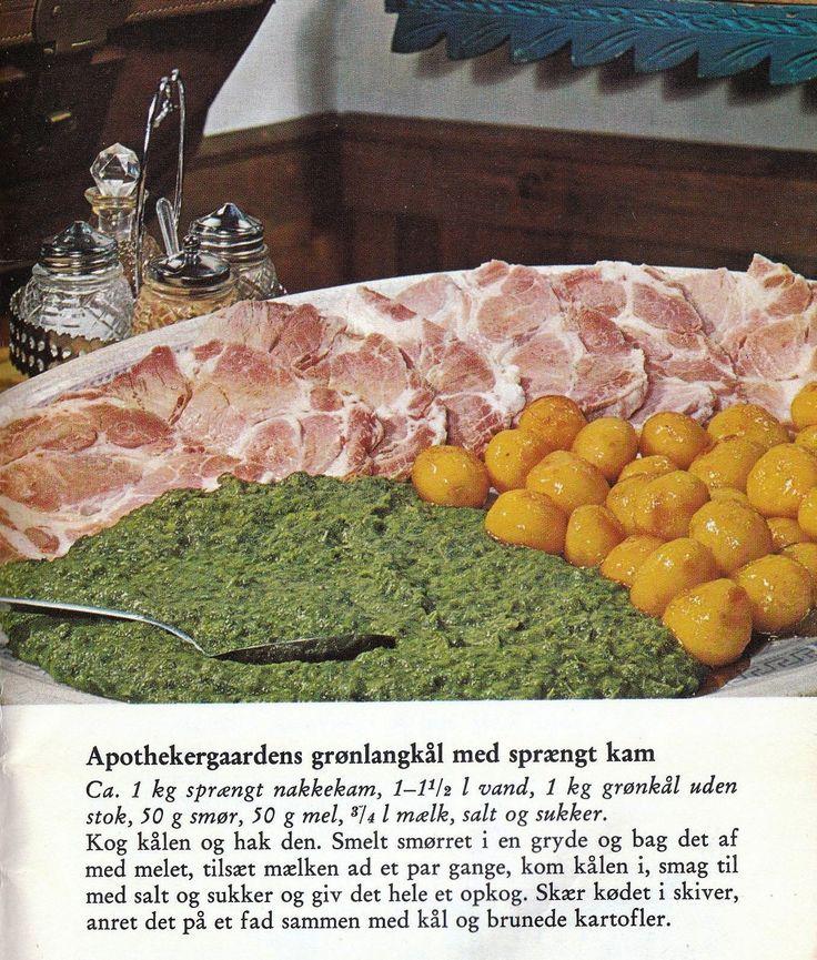 Grønlangkål med sprængt kam