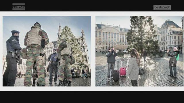 De metro rijdt niet, de scholen en crèches zijn dicht, vele winkels zijn gesloten. Fotograaf Jimmy Kets brengt Brussel vandaag in beeld. Maar hij toont ook hoe manipulatief een fotograaf met de werkelijkheid kan omgaan.