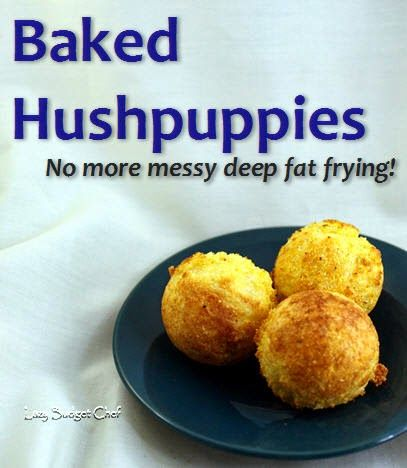 Stove top 'baked' hush puppy recipe. No frying required, recipes gives a lactose free option