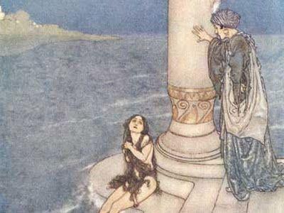 A Pequena Sereia (Hans Christian Andersen -1837). Aos 15 anos a pequena sereia  se apaixona por um príncipe que salvou de um navio que afundou. A bruxa do mar lhe dá pernas sob as condições de perder a voz, sentir dor a cada passo e esta condenada a virar espuma do mar se o príncipe não se casar com ela. O príncipe fica noivo de uma princesa de um reino próximo. Se a pequena sereia cravar uma faca no coração do príncipe, poderá voltar a ser sereia como antes. Mas ela escolhe virar espuma do…