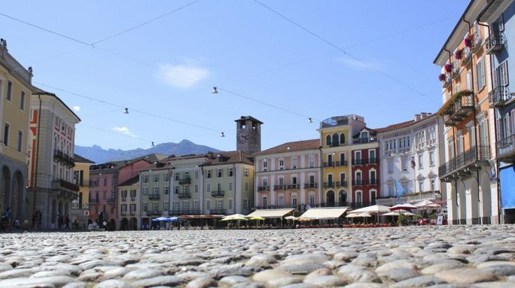 Piazza Grande Locarno Ticino