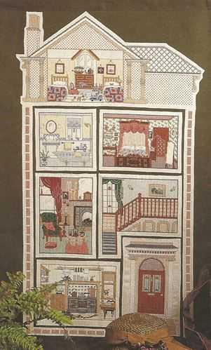 Victorian Home in Cross Stitch Barbara Thompson and Ann Green Authors