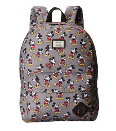 Mickey Mouse Vans Backpack!