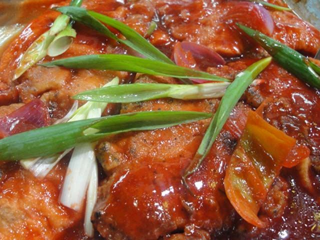 122 best pilipino dishes images on pinterest filipino for Fish escabeche recipe