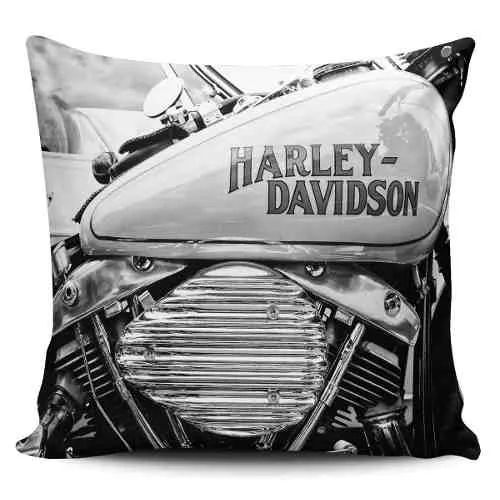Cojin Decorativo Tayrona Store Moto Harley 02 Vintage - $ 43.900