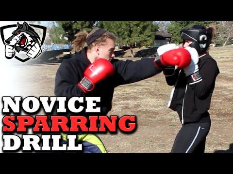 Beginner Sparring Drill for Reaction Time, Head Movement & Defense