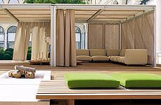 design: Bestetti Associati - Shading architectural modular system for outdoor environments.