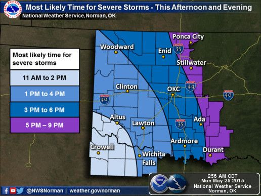 National Weather Service Forecast Office - Norman, Oklahoma weather 5-25-15