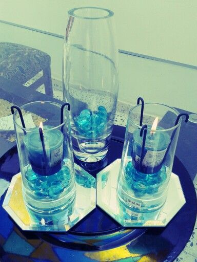 Blue decoration!!