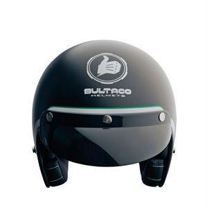 Casco Bultaco Helmets Classic Black, espíritu deportivo, combinada con la elegancia y el hacer de los buenos detalles. www.relojes-especiales.net #helmets #negro #bultaco #casco