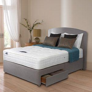 Silentnight Premier 1850 Naturals 3FT Single Divan Bed