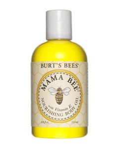 Hubby and I use for Rubs. Smells amazing without being perfumey, consistency is perfect without being heavy or dissapearing.    Keep your skin supple and soft with this light-weight, all natural body oil. Sweet almond and lemon oils and Vitamin E recondition skin throughout your pregnancy. Phthalate-, petrochemical- and paraben-free.