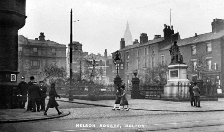 Historic Images of Bolton, Lancashire, UK
