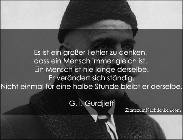 Gurdjieff #zitate