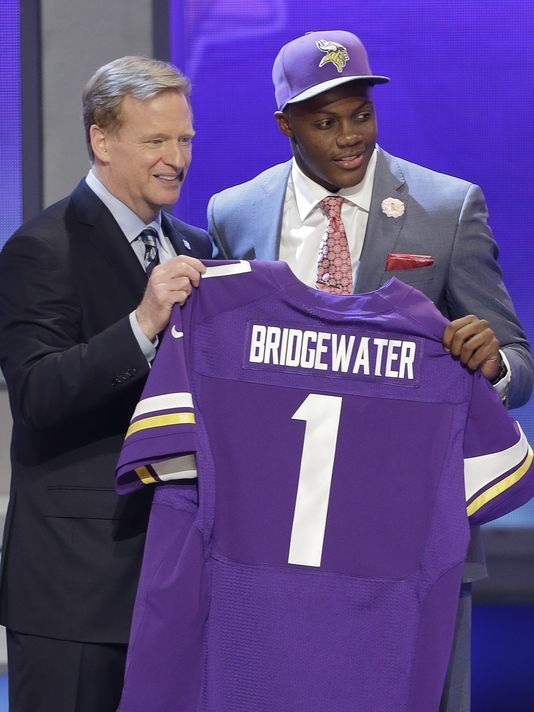NFL draft | Teddy Bridgewater scooped up by Vikings #32 ... gocards!
