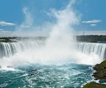 Visit Niagara Falls to take in one of the world's most famous and breathtaking natural attractions.