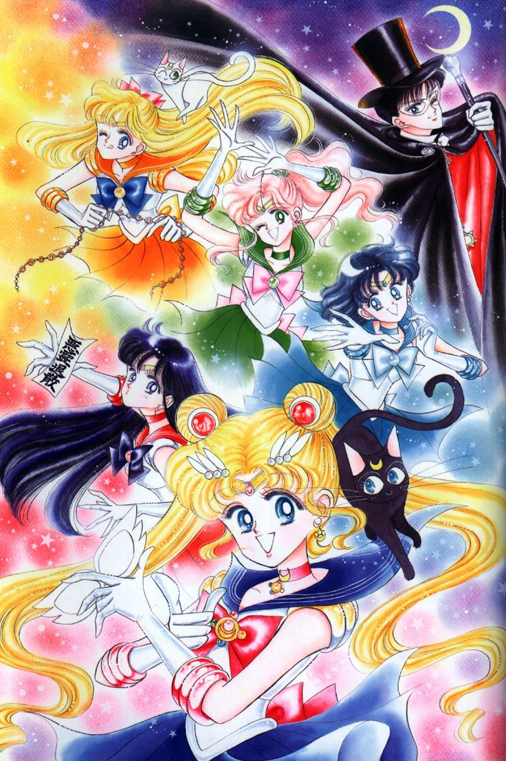 Bishoujo Senshi Sailor Moon - Naoko Takeuchi