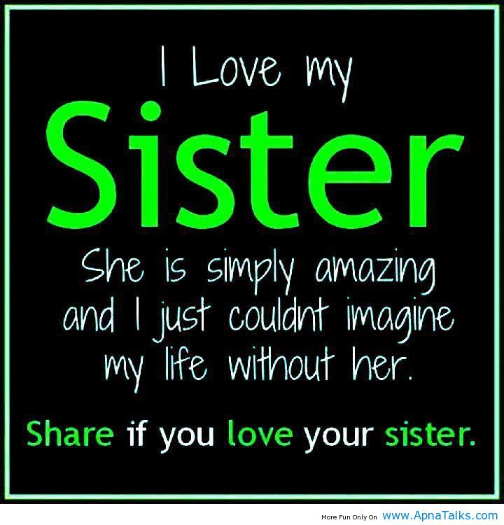 I Love You Quotes And Sayings: Funny Sister Quotes Tumblr