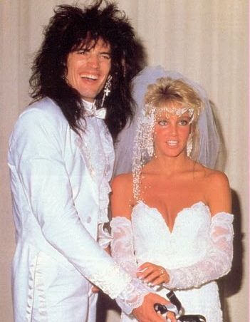 Heather Locklear Marries Tommy Lee Front Man Of The Motley Crew