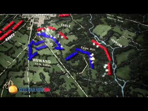 The Civil War in Four Minutes: The Battle of Gettysburg - YouTube