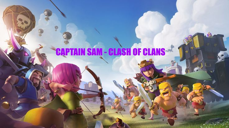 Find Us on Other Social Media and Web Sites:   Facebook: https://www.facebook.com/Captain-Sam-Clash-of-Clans-280758432352820/ Twitter: https://twitter.com/CaptainSamCOC Google+: https://plus.google.com/109893419138555559704 Linkedin: https://www.linkedin.com/in/captain-sam-clash-of-clans-80705713a Pinterest: https://www.pinterest.com/CaptainSamCOC/ Tumblr: https://captain-sam-clash-of-clans.tumblr.com/ Reddit: https://www.reddit.com/user/captainsamcoc/ Flickr…