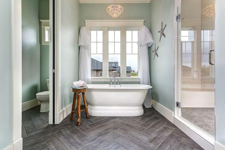 Porcelain Tile Wood Floors For Bathroom Custom Home