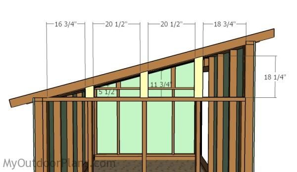 Goat Shelter Plans | Free Outdoor Plans - DIY Shed, Wooden Playhouse, Bbq, Woodworking Projects