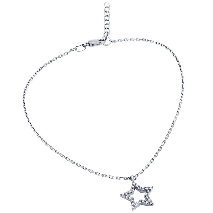CloseoutWarehouse Sterling Silver Chain Anklet 9 Length