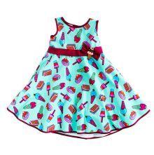Φορέματα - Ρούχα Για Κορίτσια Για Πάρτι - Εκδύλωση :: Jelly Bean Kids Collection 2014 :: Jelly Bean Kids Εντιπωσιακό Καλοκαιρινό Φόρεμα με Εμπριμέ Παγωτών - MEMOIRS Νυφικά και Γυναικεία Φορέματα