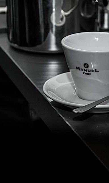 Is it a film noir piece or an introduction to our barista course?