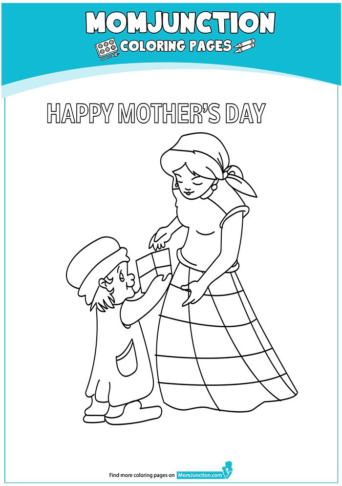 Mother And Daughter Coloring Page In 2020 Mothers Day Coloring Pages Happy Mothers Day Images Happy Mothers Day Pictures