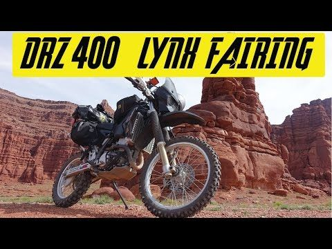 (2) DRZ 400 Lynx Fairing - YouTube