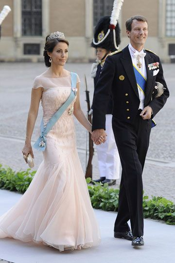 Joaqu�n y Marie de Dinamarca