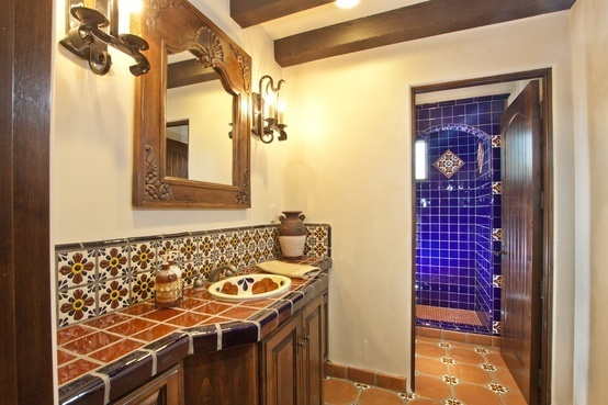 115 best images about spanish colonial revival remodel on for Spanish colonial bathroom design