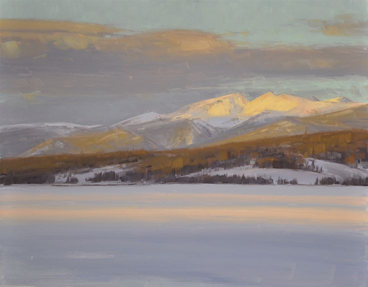Midwinter by Stacey Peterson Oil ~ 11 x 14