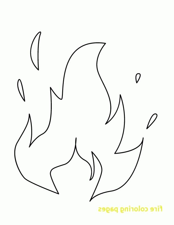 Flames Coloring Pages 5f9r Flame Coloring Page Fire Coloring Pages