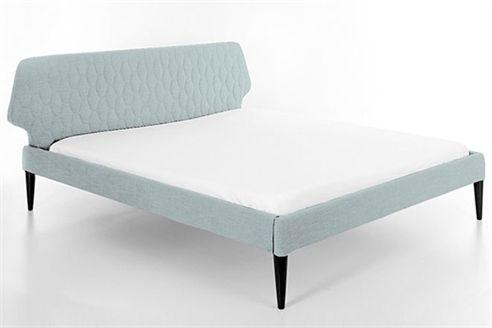Retro Upholstered Bed Frame