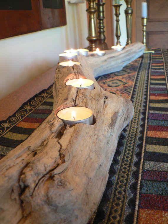 Driftwood Driftwood center piece wedding by FlotsamJetsamCrafts