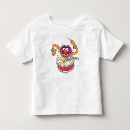 Animal Crashing Through Drums Toddler T-shirt - tap to personalize and get yours