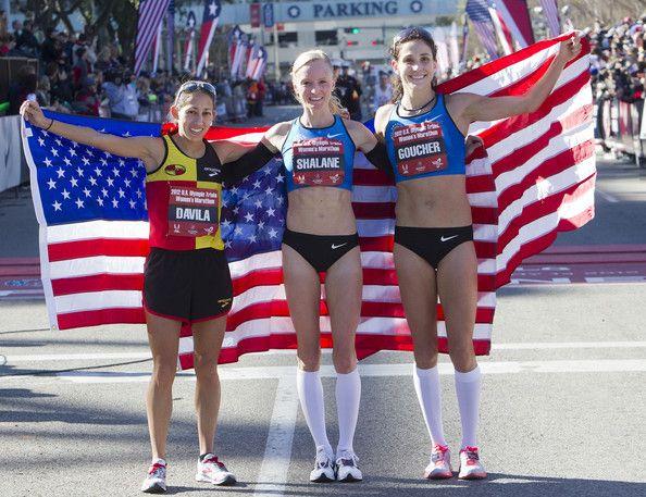 Desiree Davila, Shalane Flanagan and Kara Goucher will be proudly representing the U.S. in the Marathon