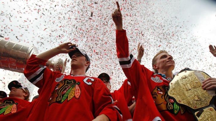 Watch Live: Chicago Blackhawks Parade and Rally