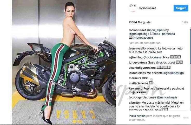 Rocío Crusset, la hija de Mariló Montero y Carlos Herrera, ha revolucionado las redes sociales con su foto más sexy en Instagram.