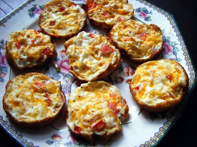 Low Fat Ouiche Nibblers » Healthy Lunch Ideas
