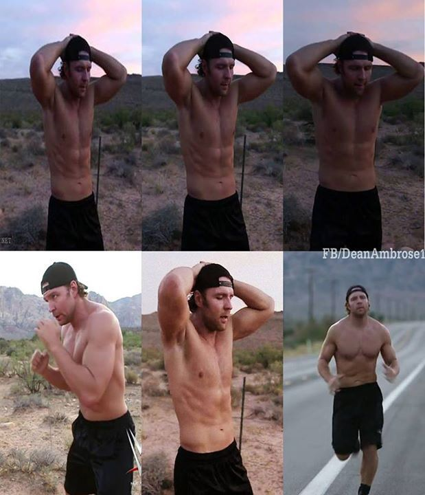 I need to work out with Dean in the desert...