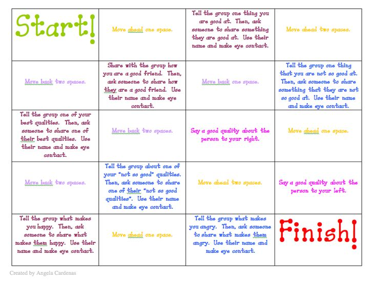 free download – a fun cooperative game to play in social group or lunch bunch.  … – Natalie Elias