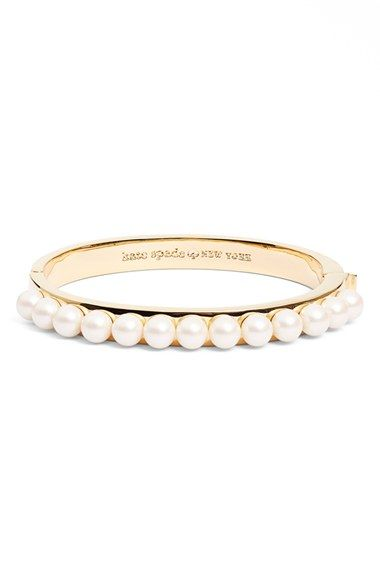 kate spade new york 'pearly delight' bangle available at #Nordstrom