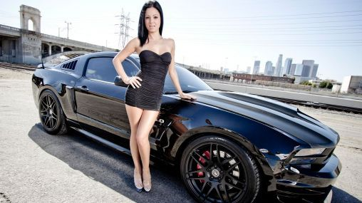 2013 Ford Mustang GT 50liter  Gabby Jeanne 19201080 HD