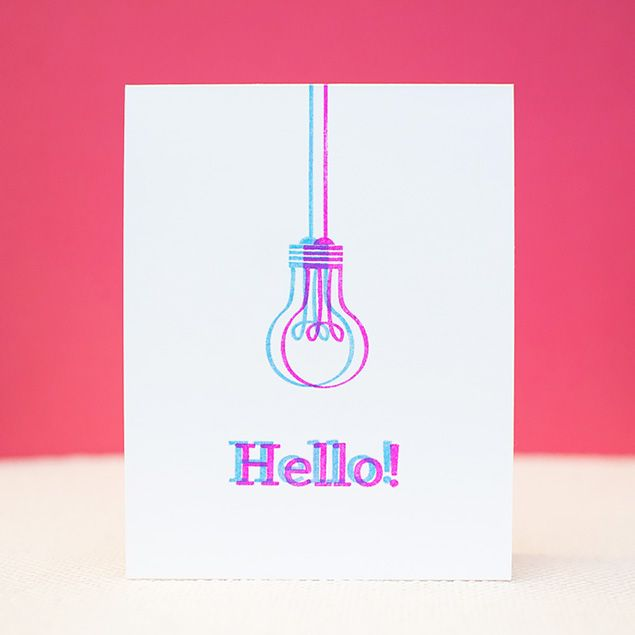 Clean and Simple Hello Card from May  - Products and inspiration from Neat And Tangled: http://neatandtangled.blogspot.com/